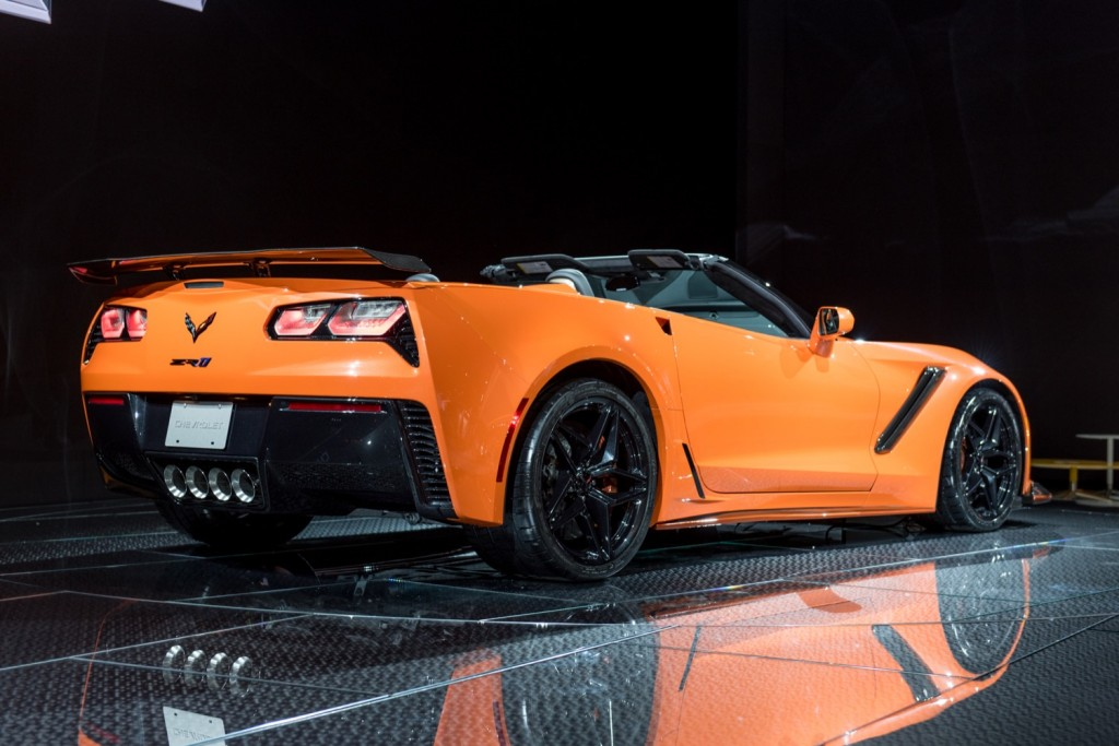 2019 Corvette Zr1 Convertible Revealed In Los Angeles Gm