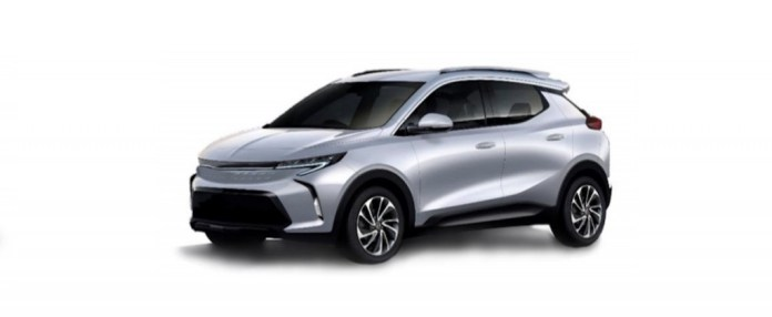 Leaked future electric crossover