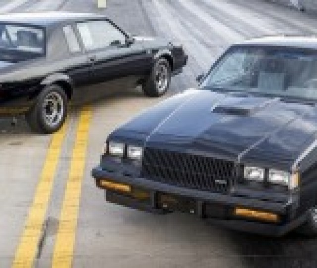 Buick Grand National Twins Sell For