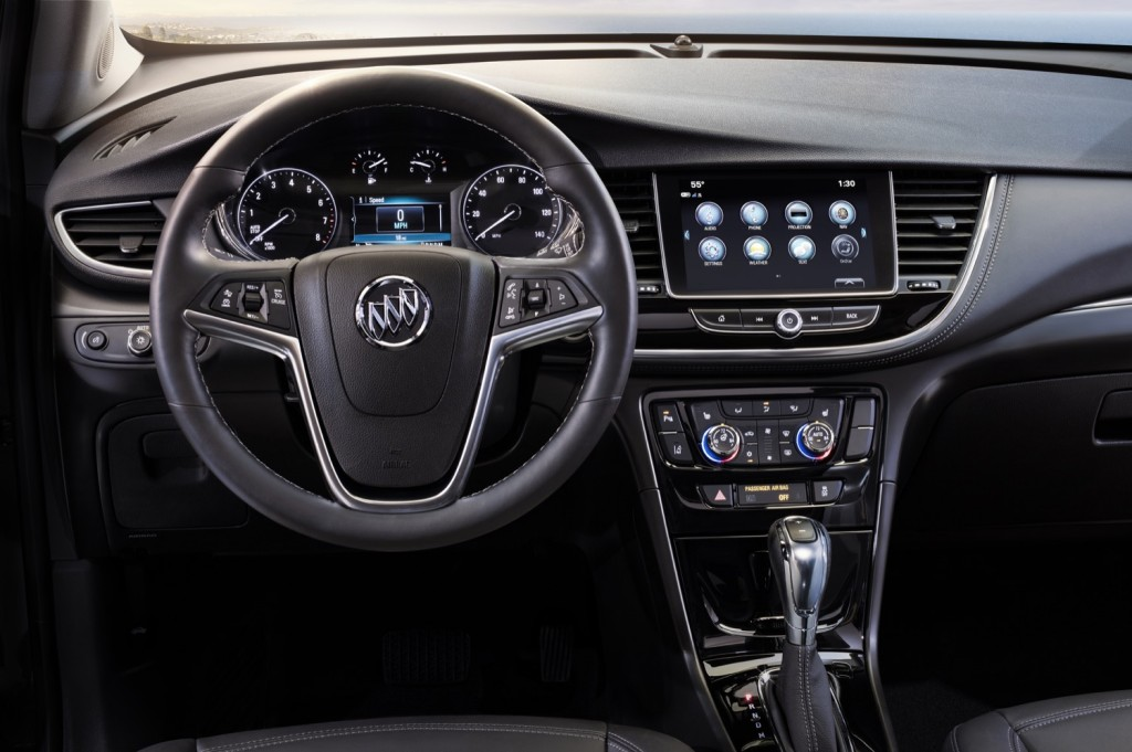 2019 Buick Encore interior 001