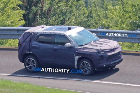 2020 Chevrolet Trax spy shots - Milford Proving Grounds - August 2018 006