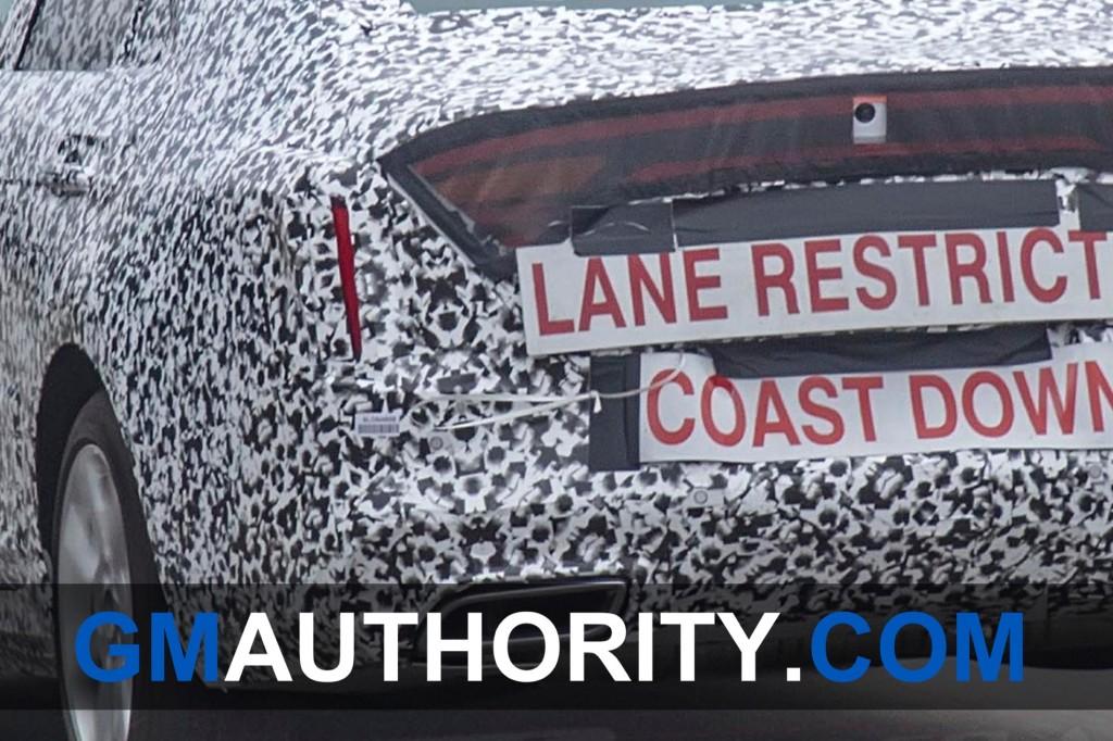 2020 Cadillac CT4 Spy Shots - Exterior - Production Taillights 003