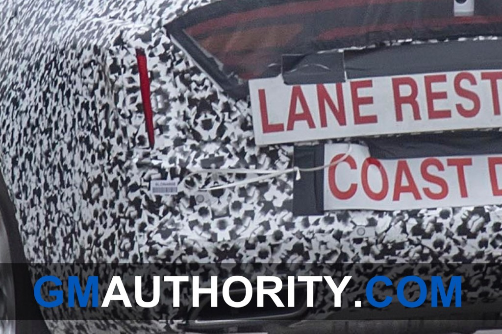 2020 Cadillac CT4 Spy Shots - Exterior - Production Taillights 004