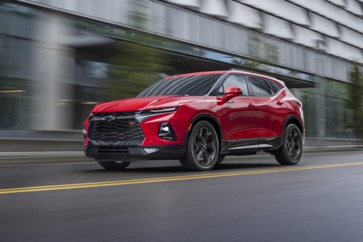 2019 Chevrolet Blazer RS Photo Exterior 002 Chevrolet Market Share 2018