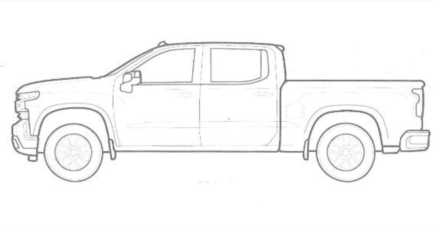 Chevrolet Coloring Pages Are Fun For The Family