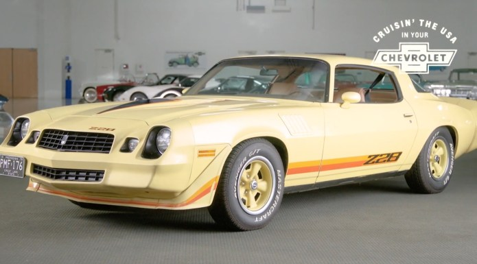 1979 Chevy Camaro Z28 Demands Attention Video Gm Authority