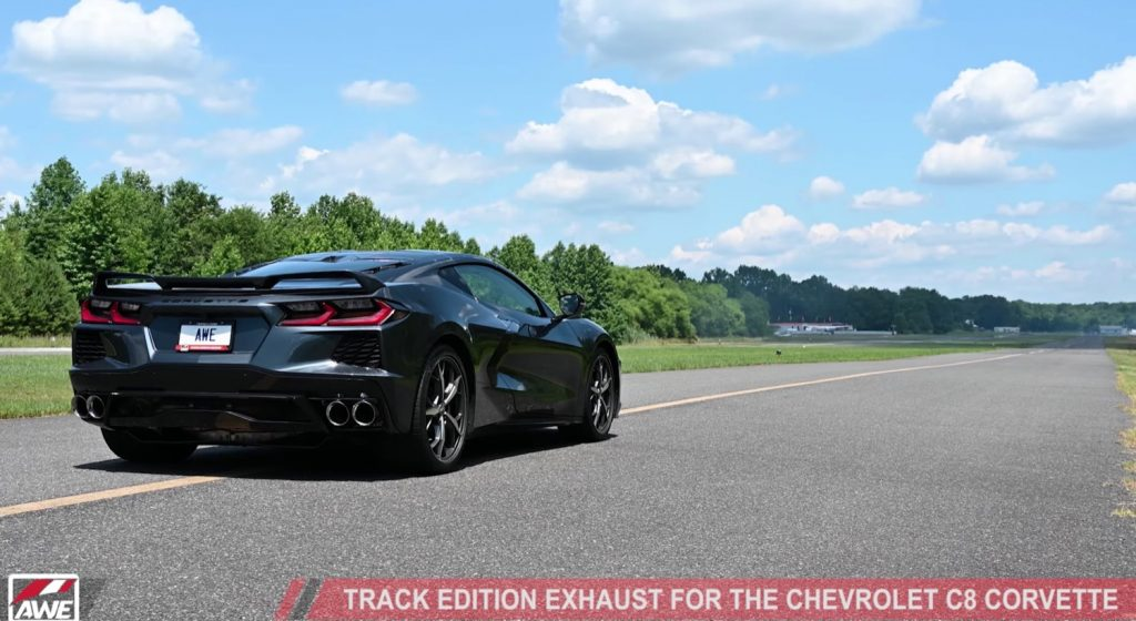 soak in the new exhaust note on this