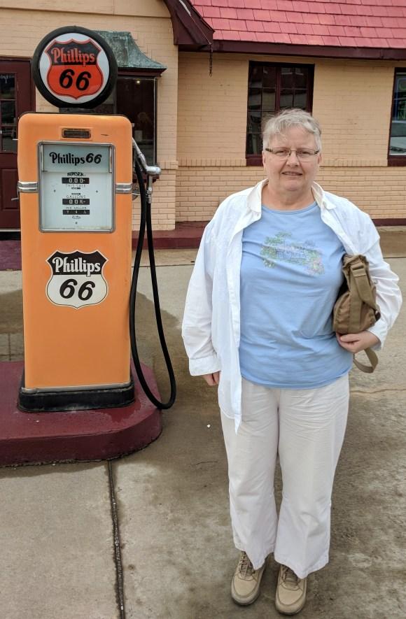 Antique gas pump 1