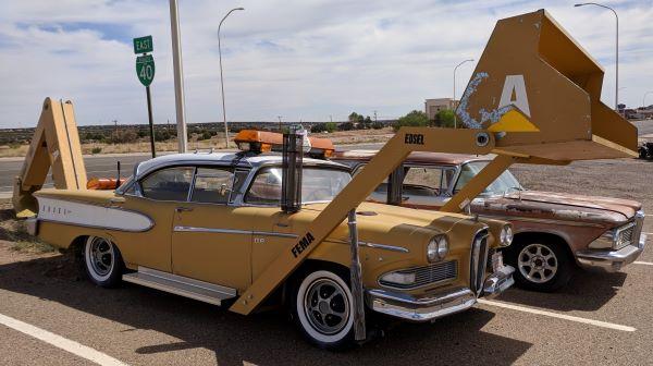 Edsel backhoe