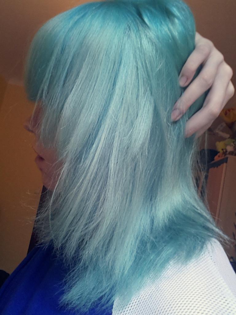 Turquoise Directions Raus Waschen Was Ne Aktion Hair