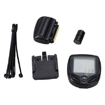 15 Functions Digital LCD Waterproof Bicycle Speedometer Odometer by Piioket