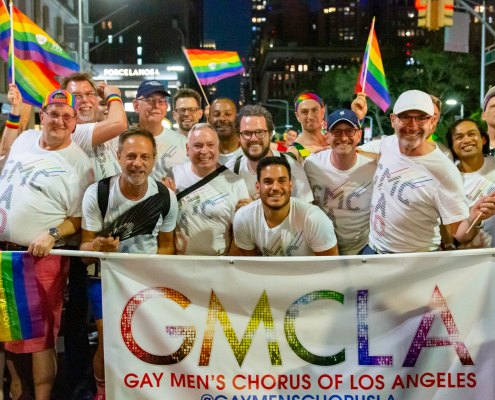 GMCLA marching at World Pride - Photo by James Geiger
