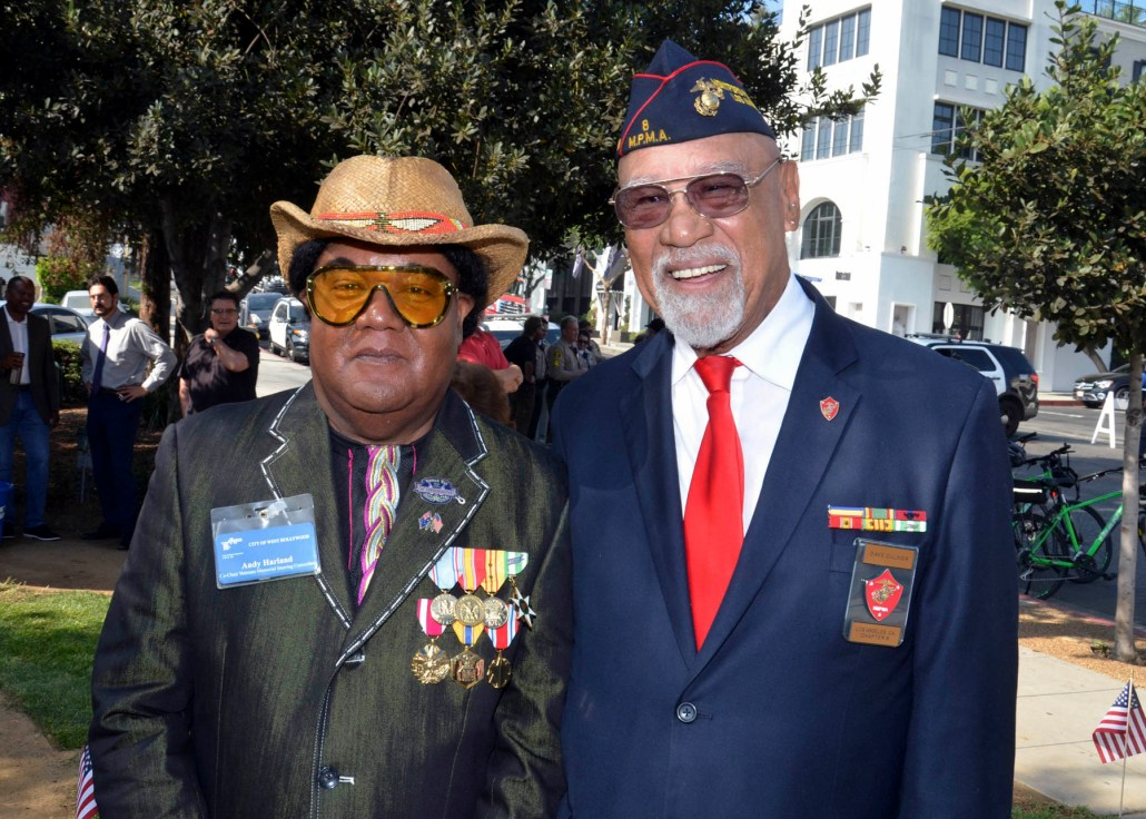 Veterans Day Ceremony - W. Hollywood
