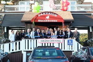 Chamber helps cut the ribbon for the Grand Opening of the Lakeside Steakhouse on September 22, 2014. http://www.lakesidesteakhouse.com