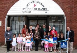 The Orange County School of Dance celebrates the opening of their new studio on October 18, 2014.  http://www.ocschoolofdance.com