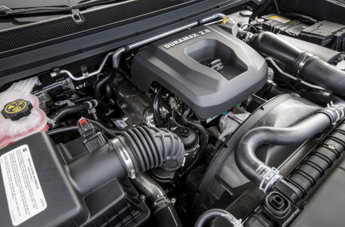 2019 GMC Canyon Exterior Engine