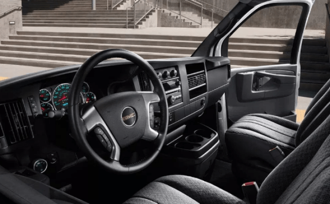 2019 GMC Savana Interior