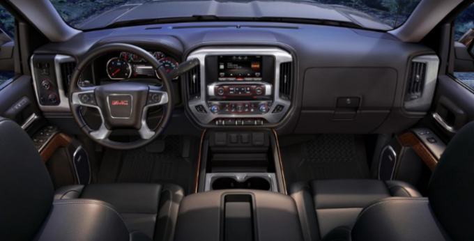 2019 GMC Sierra All Terrain Interior
