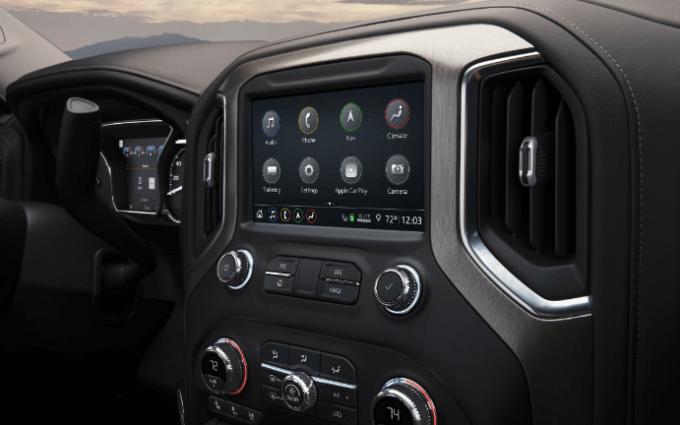 2019 GMC Sierra Denali HD Interior
