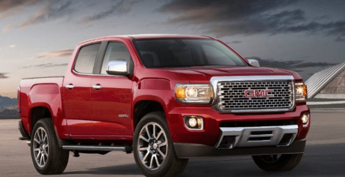 2020 GMC Canyon Exterior
