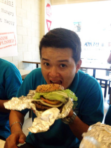MVL taking on the Bully Burger Challenge