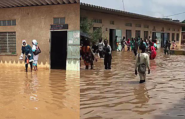 écoles inondées Dakar
