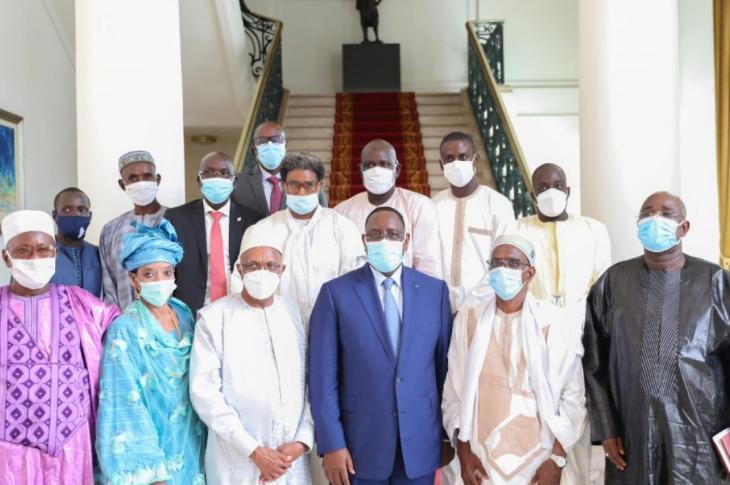 Tabital Pulaagu au palais avec le Président Macky Sall