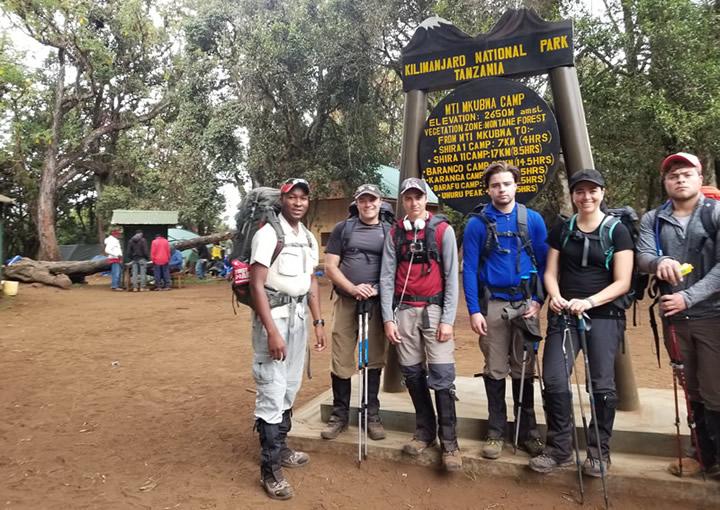 Lemosho-Mti mkubwa Camp