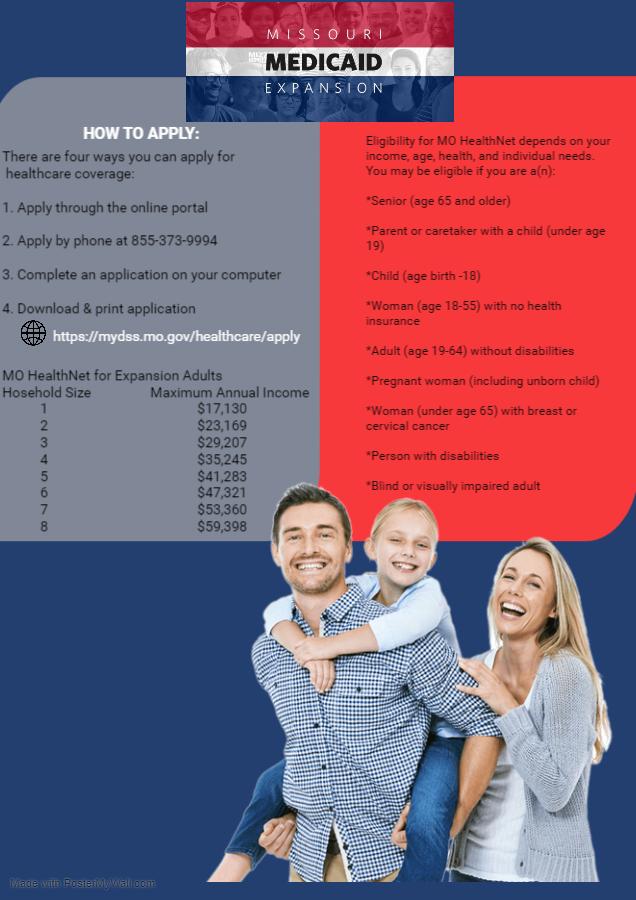 Medicaid Expansion Informational Flyer 10.4.21