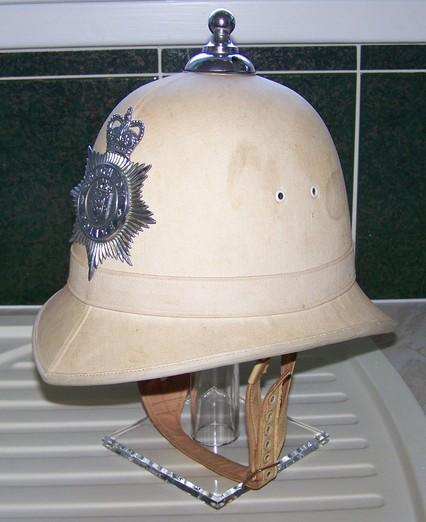 British Police Headgear