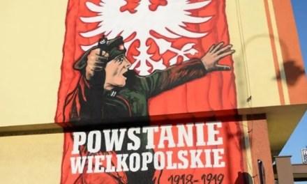 Kórnik – Mural 100-rocznicy Powstania Wielkopolskiego zamalowany!