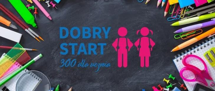 """""""Dobry Start"""" – 300zł na wyprawkę dla ucznia"""
