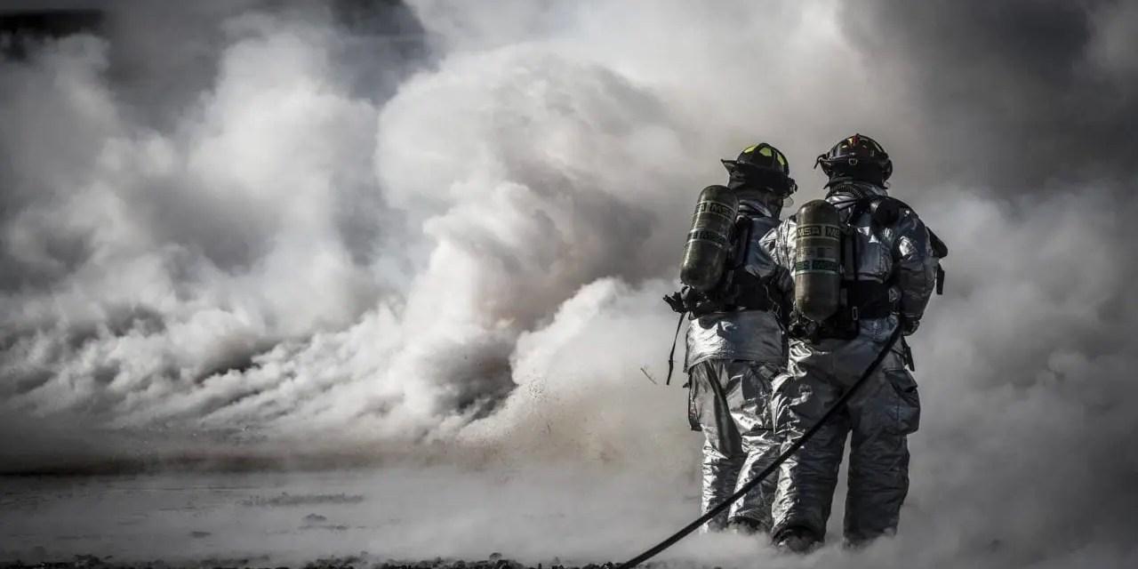 Strażacy z Krzesin (JRG6) na Kwarantannie.