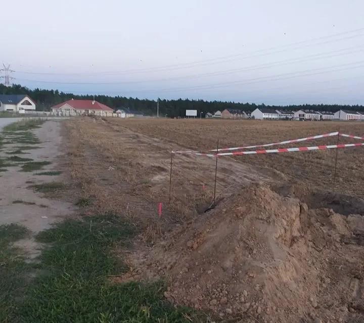 Budowa Oświetlenia, Kamionki ul. Spacerowa
