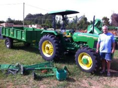 UT and tractor