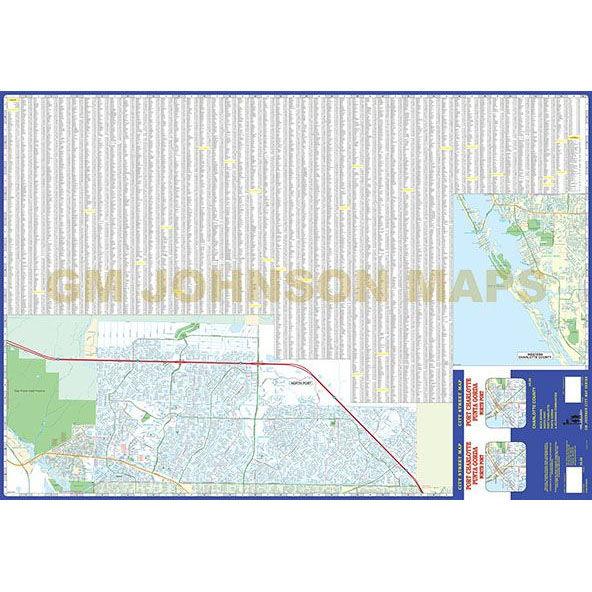 Map Of Port Charlotte Florida.Florida Map Port Charlotte Street