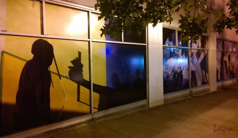 Peachtree Street at S. Rhodes Center, 26 September 2014