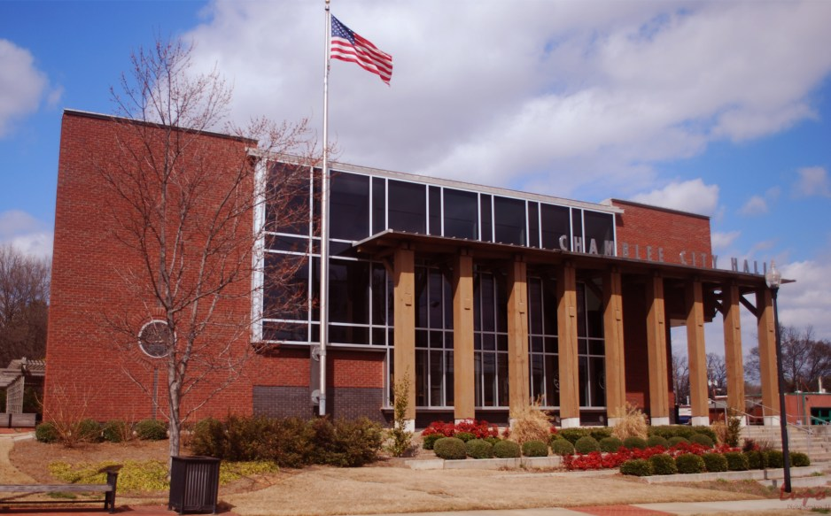 Chamblee City Hall, Chamblee, GA, 8 March 2009