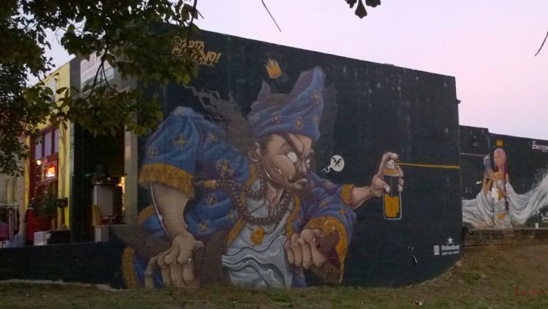 Graffiti Genie, Little Five Points, Atlanta, GA, 16 October 2014