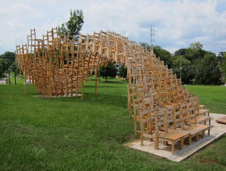 SEAT #2, Freedom Park, Atlanta, GA, 2 September 2012