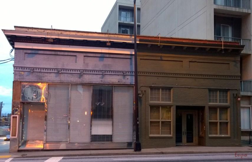Peachtree Street at Linden, Atlanta, GA, 1 January 2015