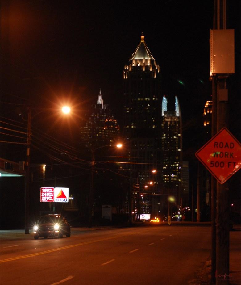 Atlanta Skyline, 4 March 2009