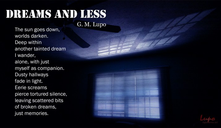 Dreams and Less, Blinds, 18 September 2015