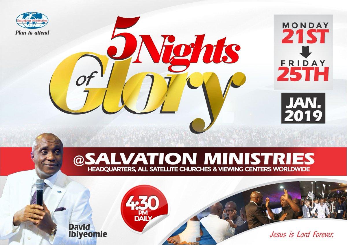 Watch Live: 5NOG 2020 - Salvation Ministries