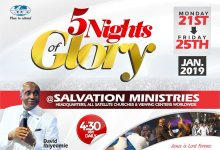 Photo of Watch Live: 5NOG 2020 – Salvation Ministries
