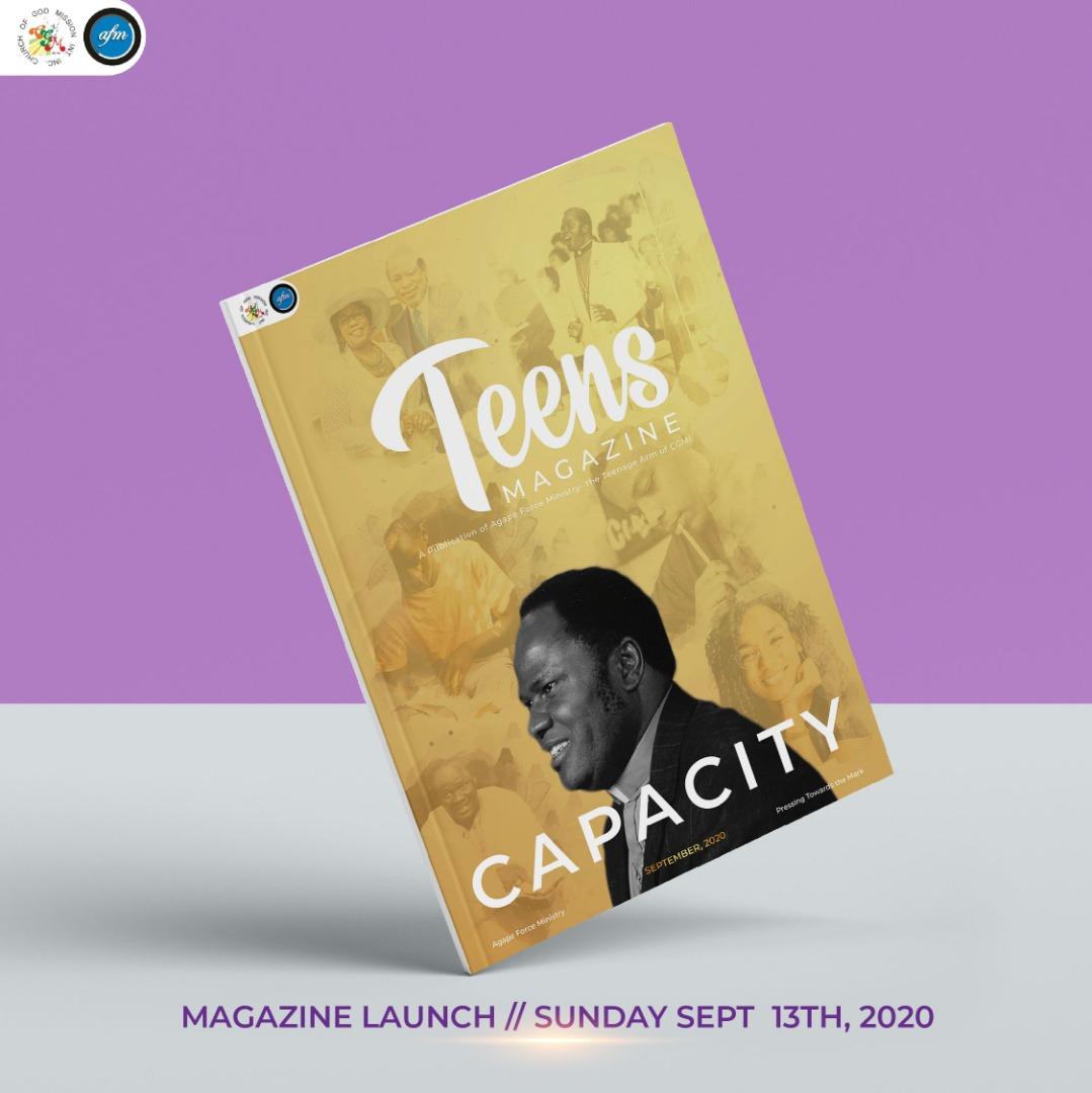 Teens Magazine September Cover