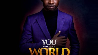 Gideon Joshua - You Hold My World