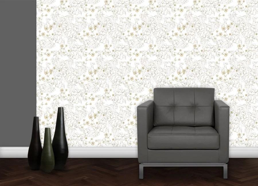 Elegante Blumentapeten und schöne florale Borten von GMM