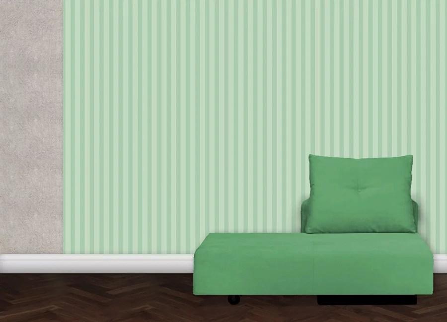 gr ne streifen tapete tiergarten gr flich m nster 39 sche manufaktur. Black Bedroom Furniture Sets. Home Design Ideas