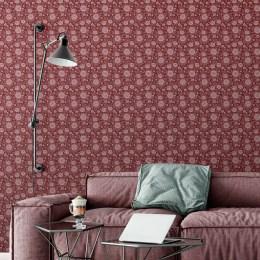 elegante blumentapeten und sch ne florale borten von gmm. Black Bedroom Furniture Sets. Home Design Ideas